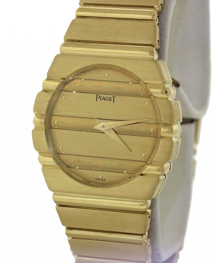 Ladies Piaget Polo Solid 18k Watch