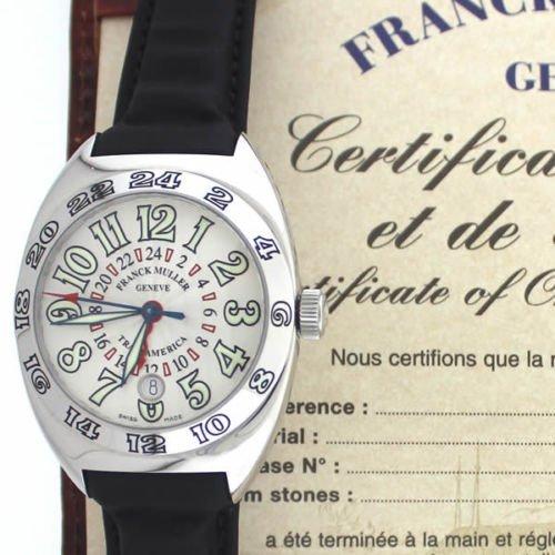 Franck Muller Transamerica 2000 WW Steel watch