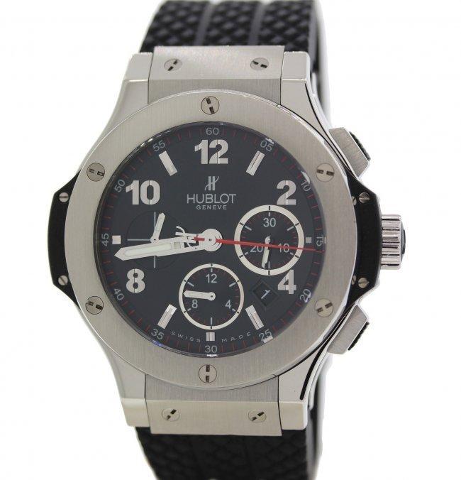 Hublot Big Bang SS Ceramic Carbon Fiber watch