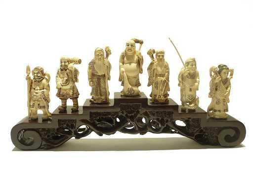 Carved Ivory Netsuke