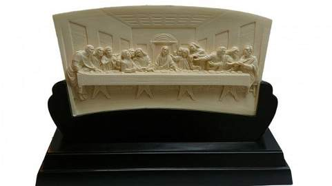 Mammoth Ivory Tusk - Last Supper