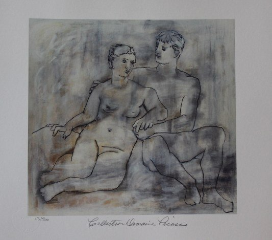 """PICASSO """"THE LOVERS"""""""
