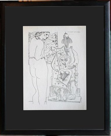 VINTAGE PICASSO LITHOGRAPH / 1956 FIRST EDITION