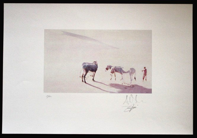 "ANAVIA HAND SIGNED LITHOGRAPH ""IMOCHAGH II"""