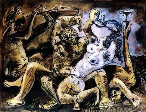 """PICASSO """"BACCHANAL"""""""