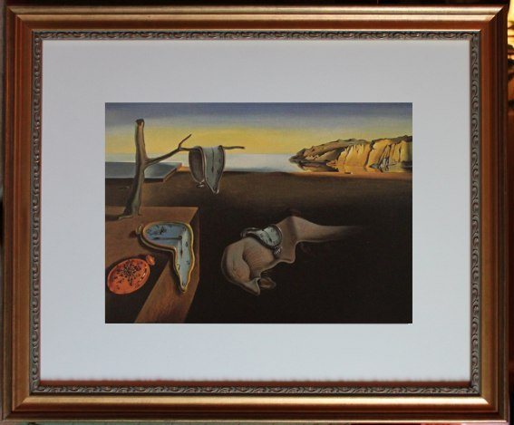 "DALI ""PERSISTENCE OF MEMORY"" - FRAMED"