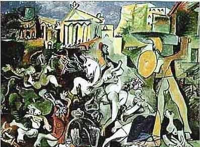 "PICASSO ""BATTLE SCENE"""