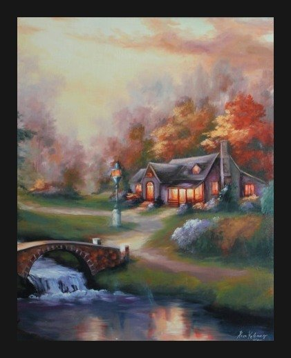 "ALEXA KELEMEN SIGNED GALLERY PROOF ""COUNTRYSIDE CHARM"""