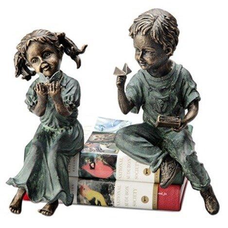 BOY & GIRL SHELF SITTERS