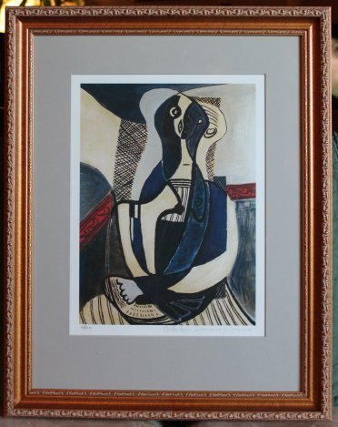"""PICASSO LTD ED """"SEATED WOMAN"""""""