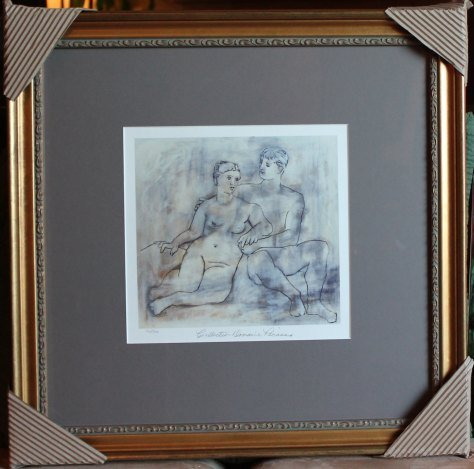 "PICASSO LTD ED ""THE LOVERS"""