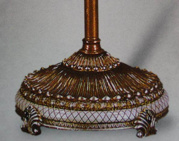 ANTIQUE STYLE TORCHIERE FLOOR LAMP - 2
