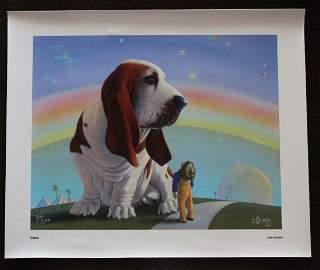 "CHICK BRAGG ""GIANT DOG"" - HAND SIGNED - LTD ED"