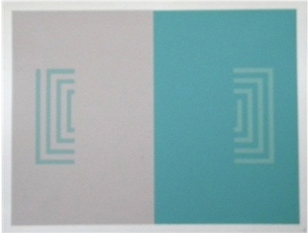"ALBERS SILKSCREEN ""INTERACTION OF COLOR"" 1997"