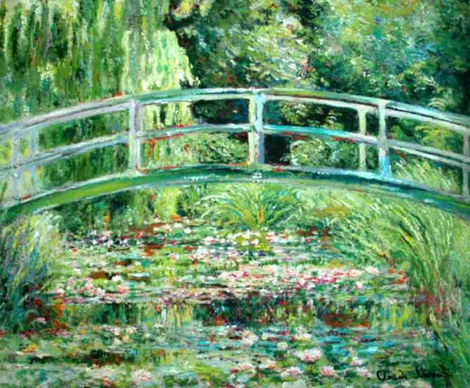 "MONET ""JAPANESE BRIDGE"""