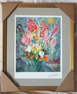 "CHAGALL LTD ED ""ORIGINAL BOUQUET"""