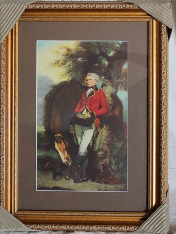 "1937 REYNOLDS LITHOGRAPH ""GENERAL GEORGE COUSSMAKER"""