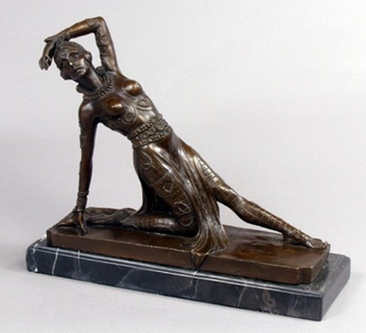 DANCER BRONZE SCULPTURE
