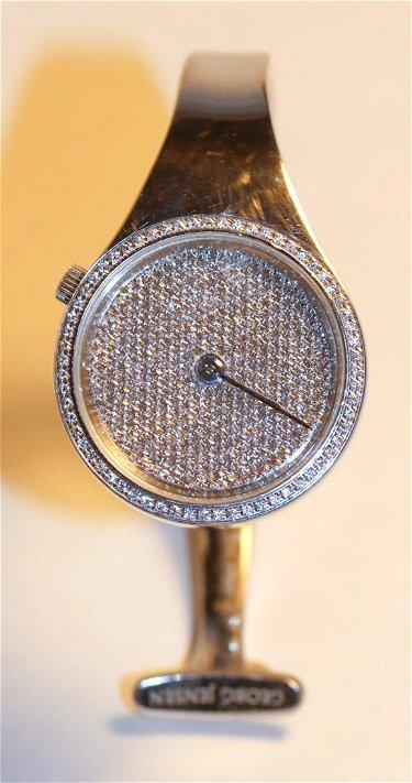 Georg Jensen Vivianna Torun Diamond Watch