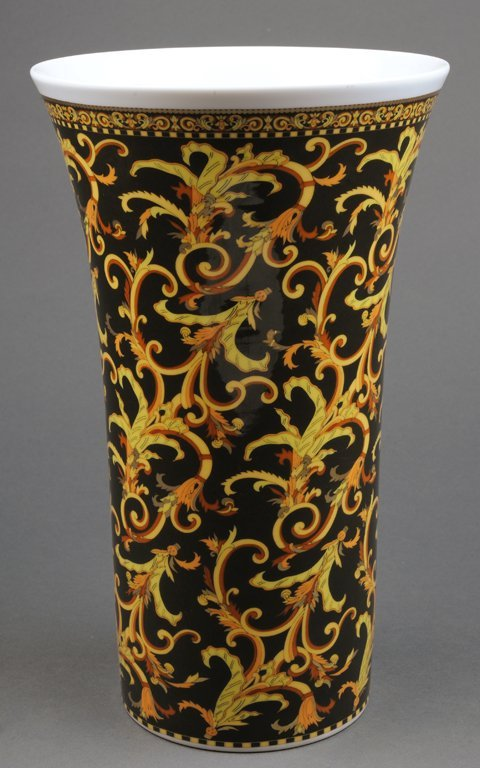 A VERSACE BY ROSENTHAL BAROCCO VASE