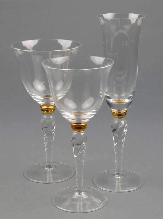 """A COLLECTION OF GLASS & CO. """"IN VINO VERITAS"""" SERIES WI"""