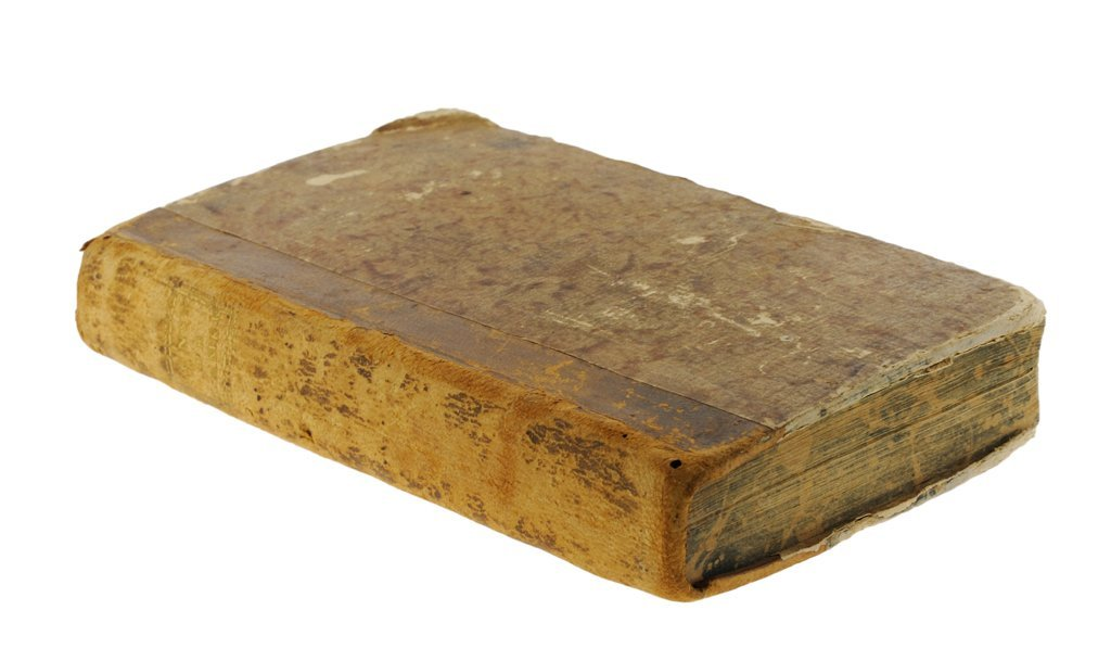 AN ANTIQUE BOOK WITH THE EARLIEST COLLECTION OF THE CON