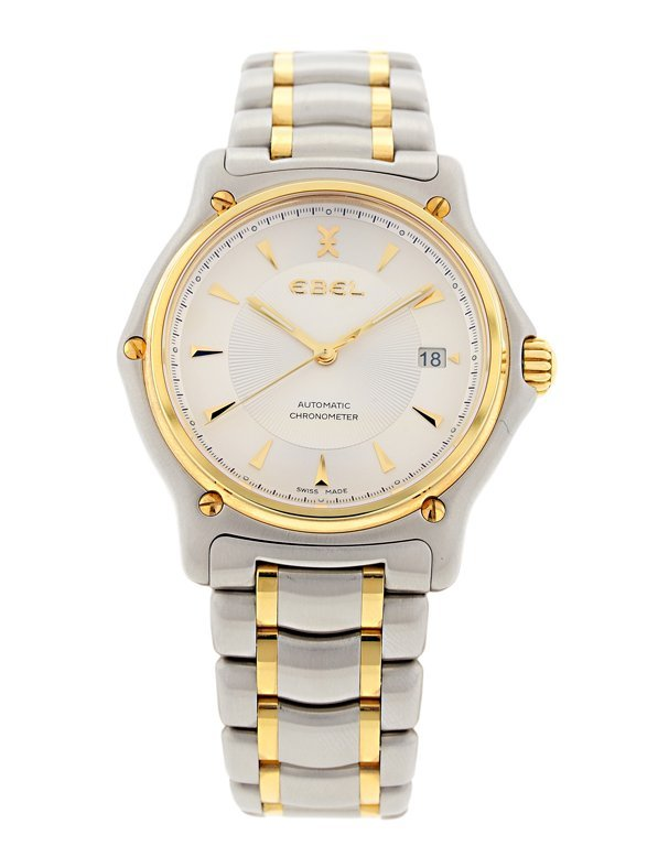 A NEW MEN'S EBEL DUAL TONE WATCH Very good condition.