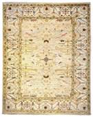 A HANDWOVEN OUSHAK CARPET India, 20th Century. Very