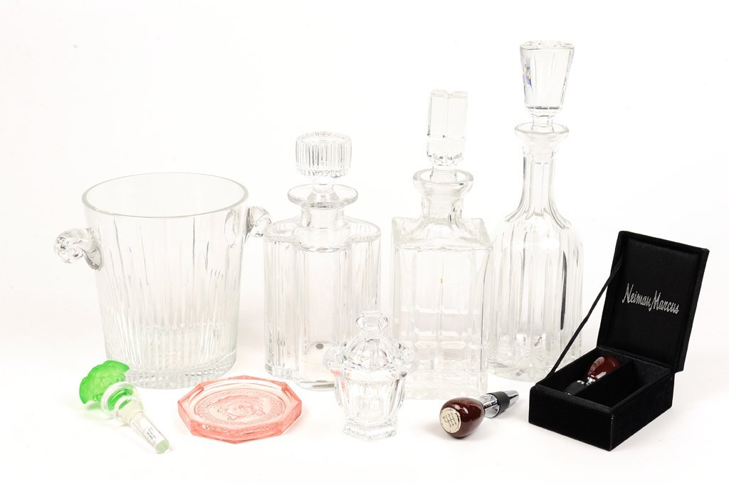 A ROSENTHAL, BACCARAT AND WATERFORD SERVING COLLECTION