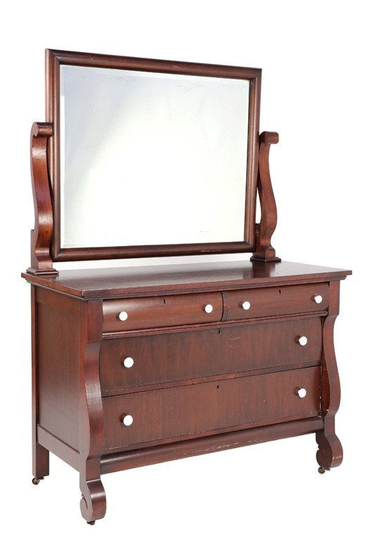 Turn of the century furniture - A Turn Of The Century Upham Manufacturing Dresser