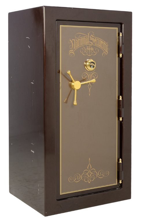 A NATIONAL SECURITY GUN AND JEWELRY SAFE