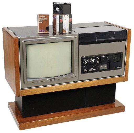 1975 SONY TRINITRON LV1901 BETAMAX TV - Oct 26, 2013