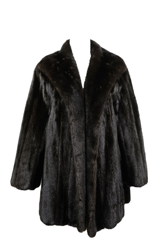A FULL PELT MINK COAT BY ESTHER WOLF