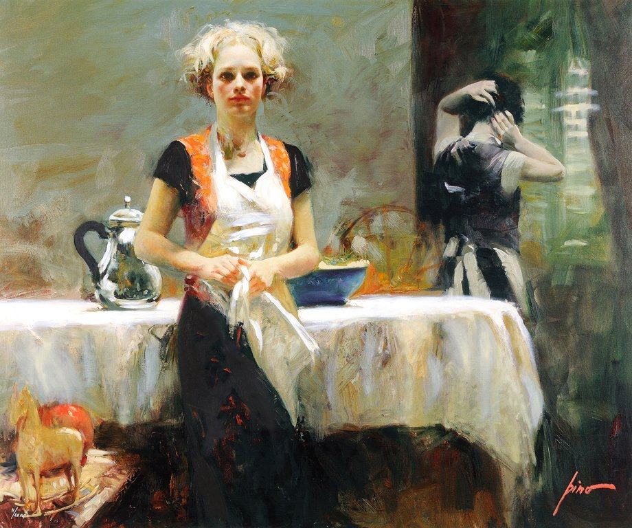 PINO (AKA Guiseppe D'angelico) DAENI, (American, 1939 -