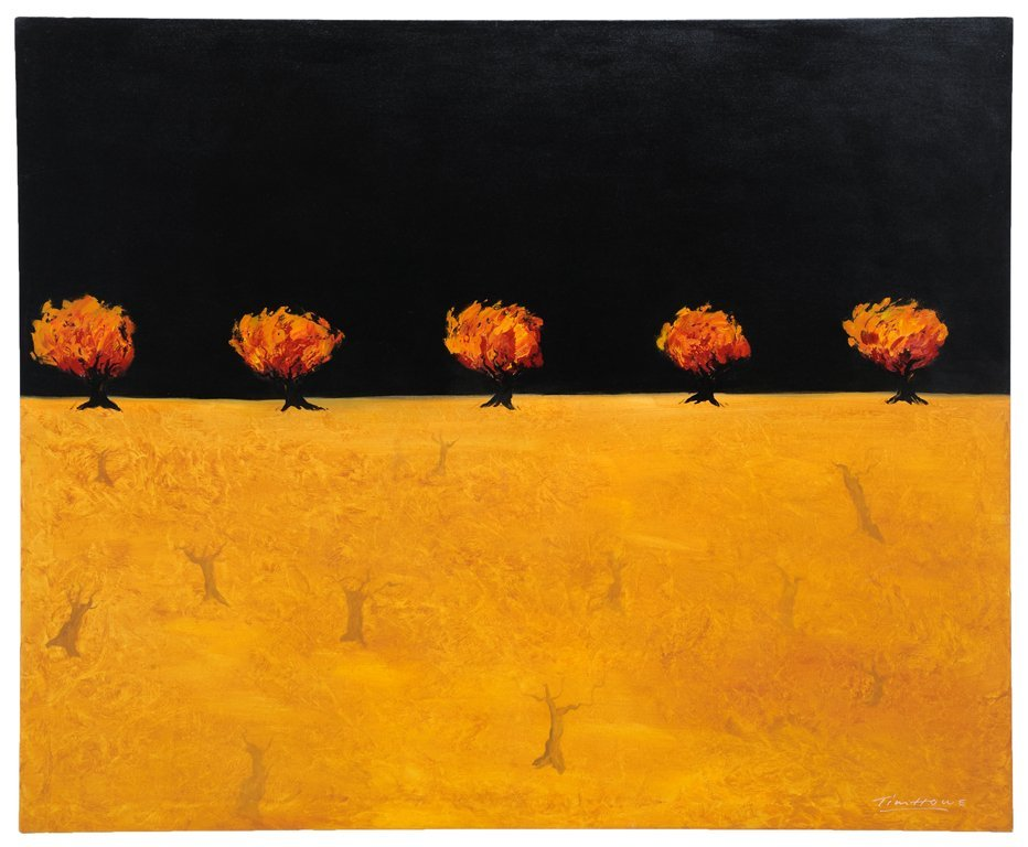 TIM HOWE, (New Zealand /American, current), Misterieux