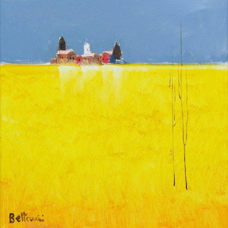 LIDO BETTARINI, (Italian, born 1938), Campo di Grano,