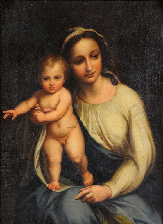 ANONYMOUS ARTIST , Madonna and Child, late 16th/early