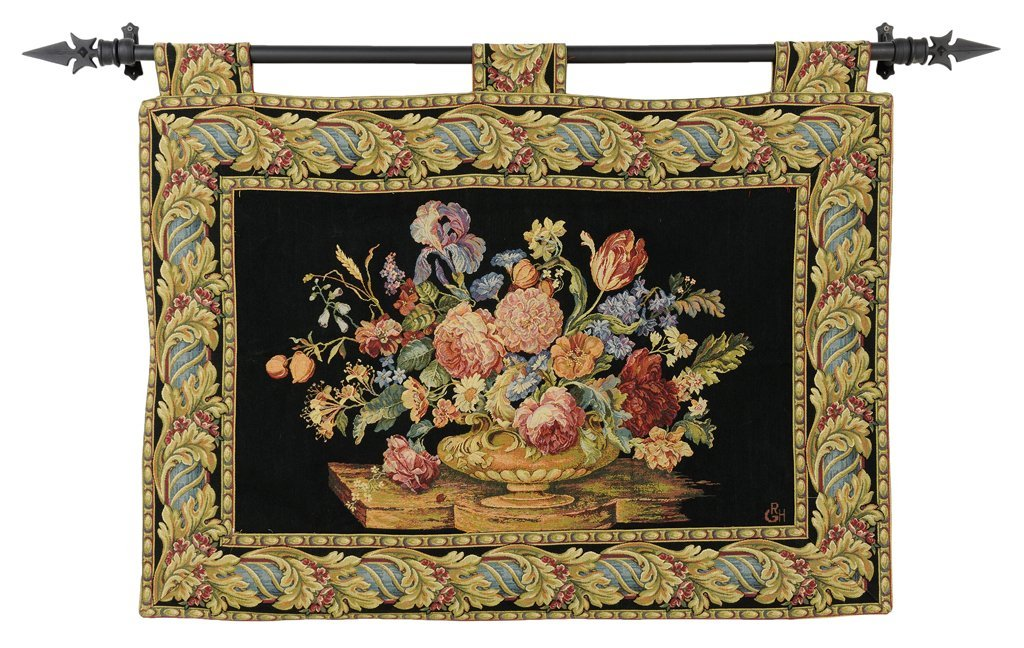 A FRENCH TAPESTRY PANEL