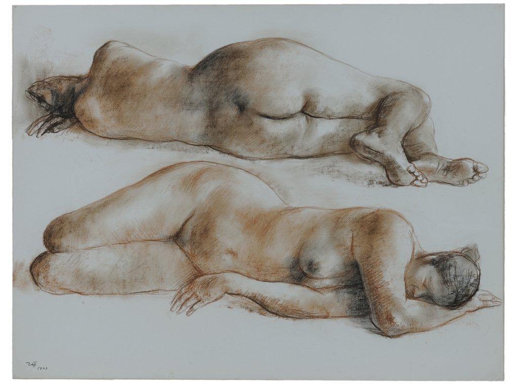FRANCISCO ZÚÑIGA, (Mexican, 1912-1998), Desnudos