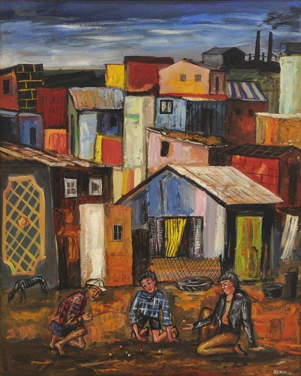 ANTONIO BERNI, (Argentinean, 1905-1981), Juanito y sus