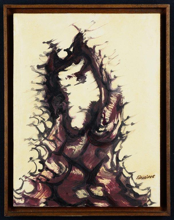 DAVID ALFARO SIQUEIROS, (Mexican, 1896-1974), Untitled,