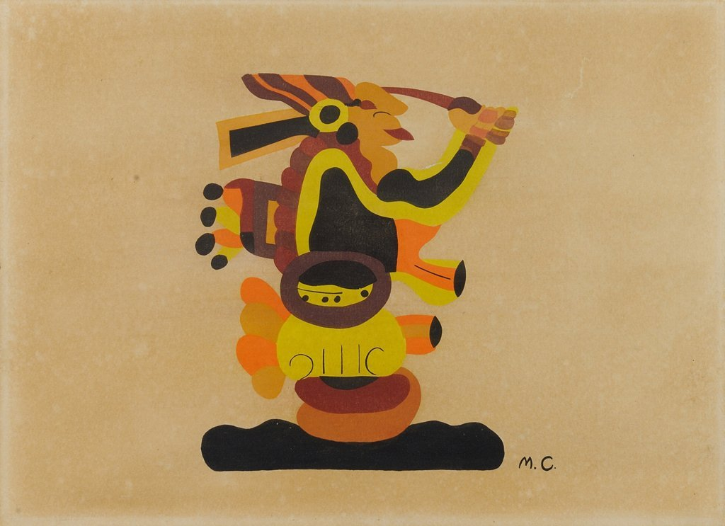 MIGUEL COVARRUBIAS, (Mexican, 1904-1957), Figura