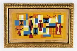 MARIO CARREÑO, (Cuban, 1913-1999), Untitled, 1955,