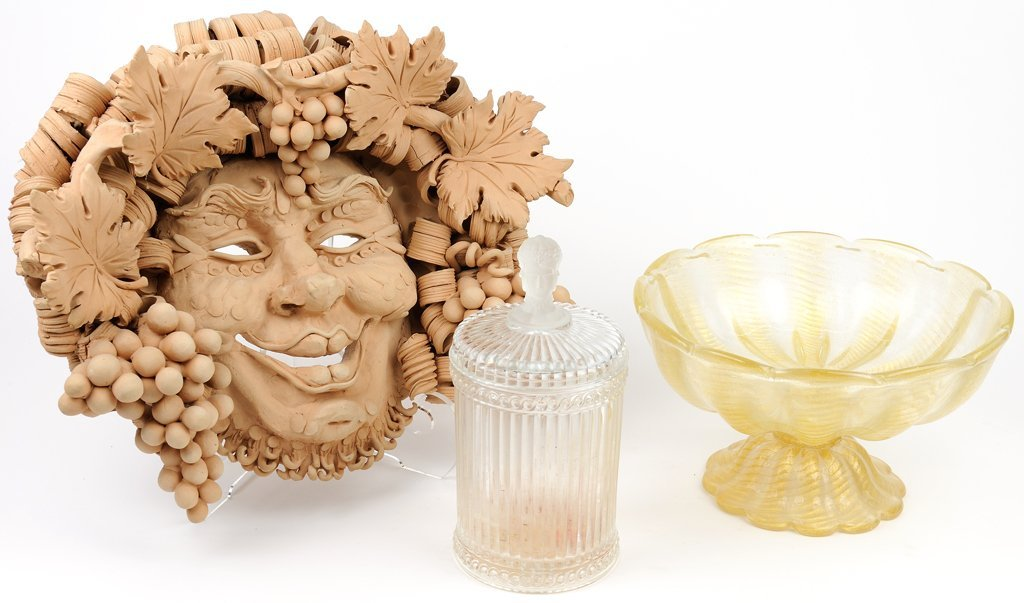 A GROUP OF THREE ITALIAN DECORATIVE ARTICLES