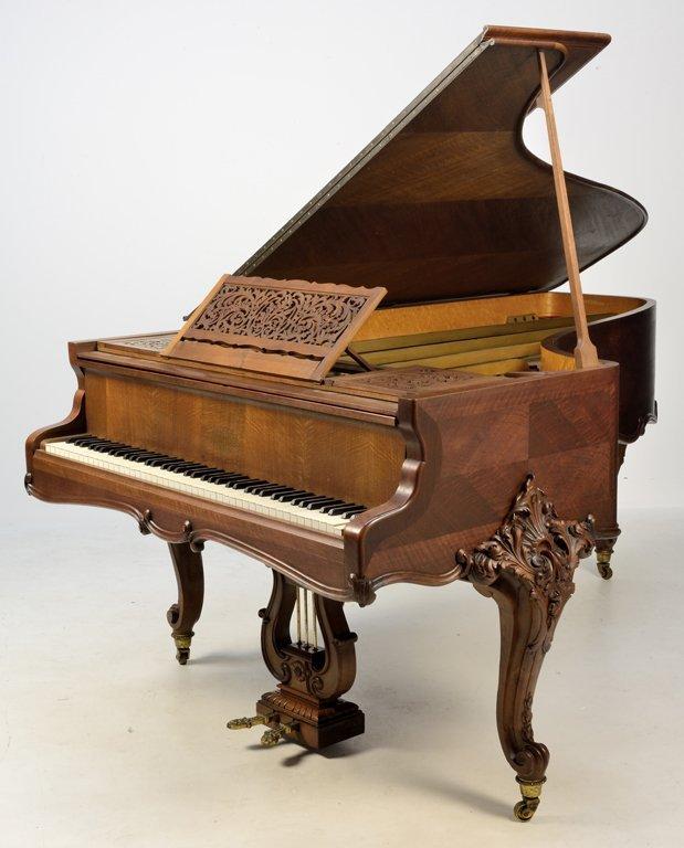 A FRENCH ERARD LOUIS XV STYLE GRAND PIANO - 2