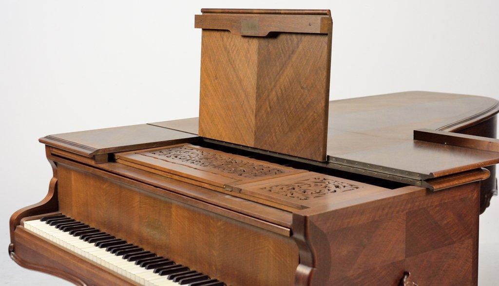 A FRENCH ERARD LOUIS XV STYLE GRAND PIANO - 8