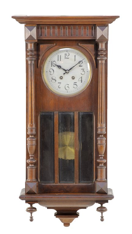 A RENAISSANCE REVIVAL WALL CLOCK