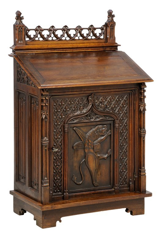 A GOTHIC REVIVAL LECTERN