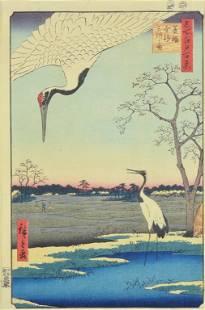 UTAGAWA (ANDO) HIROSHIGE, (Japanese, 1797-1858),