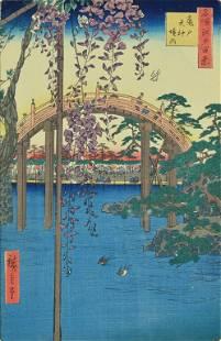 UTAGAWA (ANDO) HIROSHIGE, (Japanese, 1797-1858), The